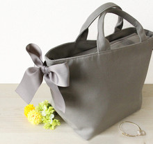 LB06012019A Ribbon Tote Bag