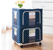 HW23032019A  66L Storage Organizer  ( 2 QTY)   +  bottom trolley