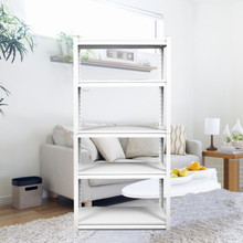 HW12052019A White rack 5 Level ( Different size available)