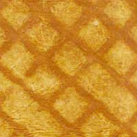 "#69750 Chamois ""Quilt"" Handmade Paper, ""Mocha"" Dusty yellow with darker mocha ""quilting"" - also available in 10 ft. roll."