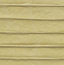 """#89202 Coco Rib Paper, """"Eucalyptus""""  Close up Two layers of handmade paper pulp in a subdued and dusky shade of green, """"sandwich"""" thin, natural coco rib sticks, creating an unusual handmade paper."""
