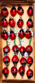 """#59115-24 Button Ladybugs - """"Swarm"""" of 24  When a small """"handful"""" of the little ladies just isn't enough, you can get an entire """"swarm"""" of 24 & they're cheaper by the dozen (well, 2 dozen)"""