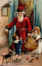 S104 Santa Antique Imagery