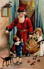 S104 Santa Antique Imagery