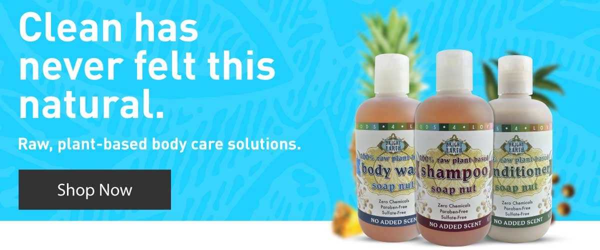 Raw, Chemical Free, GMO Free, Vegan, Plant Based body care solution. Shop Body Wash, Shampoo, and Conditioner. Shop Now