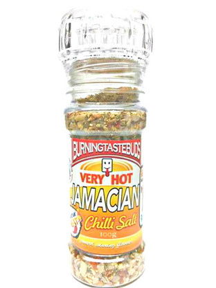 Jamaican Chilli Salt A spicy, fruity Chilli Salt blend to bring a taste of the Islands to your cooking. Great on fish, chicken and eggs.