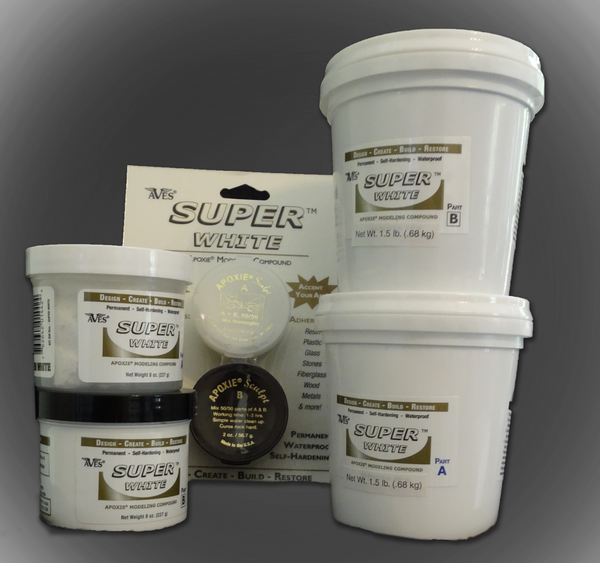 2-part putty like air dry epoxy clay.