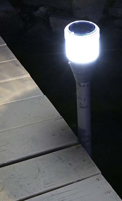 Solar Powered Pole Lights