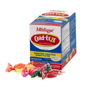 Cold-Eze Tablets - 25/ Box Assorted Flavors