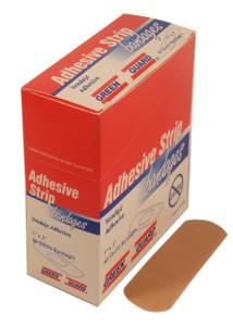 "Plastic Strip Bandages 1"" x 3"" - 60 Count Dispenser Box"