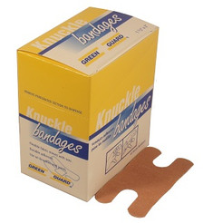 Heavy Duty Knuckle Bandages - 40 Count Box