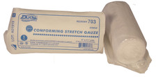 """2 - STERILE Conforming Gauze Roll 3"""" x 4.1 Yards, Individually Wrapped"""