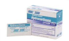 Hydrocortisone Cream 1% Packets - 25 Count Box