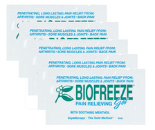 Bio-Freeze Cold Therapy Pain Relief Packets - 5 Packets per package