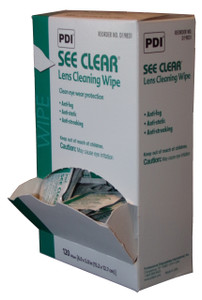 Lens Cleaning Towelettes - 120 Single Use Towelettes/Box.