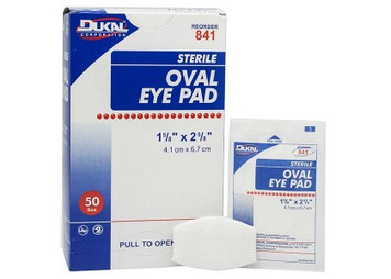 Eye Pad, 1/Packet - Sterile