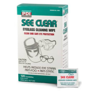 Lens Cleaning Towelettes 120/Box