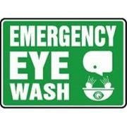 Emergency Eyewash Sign