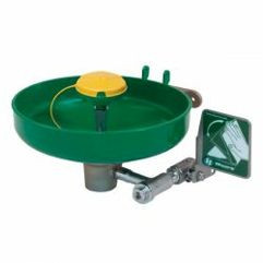 Eye Wash - Wall-Mounted - Plastic Bowl, Plumbed