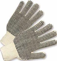 Gloves - Canvas - Knit Wrist,  Double Dot Premium Glove