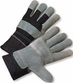 Gloves - Economy Leather Palm - Dozen