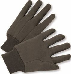 Gloves - Means Brown Jersey