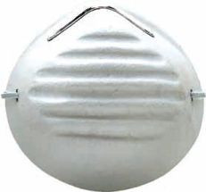 Dust Mask - White Cone Non Rated