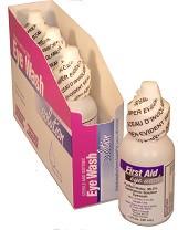 4 - Saline Eye Wash 1 Oz. – STERILE Single Use Bottles