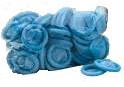 Blue Finger Cots (72) in Covered Jar