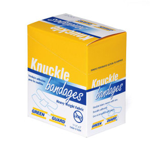 "Heavy Duty Fabric Knuckle Bandage - 1-1/2"" x 3"""