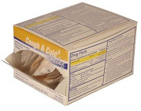 Cough, Cold & Sinus Relief Tablets in Single Dose Packets – 100 Count Dispenser Box