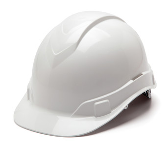 Pyramex Hard Hat - Ridgeline Cap Style - 4 Point Rachet Sold 16/Box Priced as low as $7.95 Each