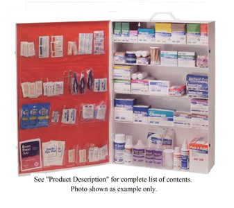 First Aid Cabinet (EMPTY) – 5 Shelf w/Pockets