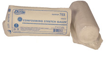 """2 – STERILE Conforming Gauze Roll 3"""" x 4.1 Yds. – Individually Wrapped"""