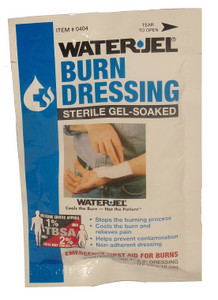 "Burn Dressing – STERILE Gel- Soaked   4"" x 4"""