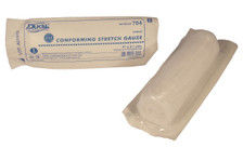"2 – STERILE Conforming Gauze Roll 4"" x 4.1 Yds. – Individually Wrapped."