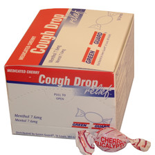 Cough Drops – Individually wrapped (Compare to Halls) – 50 Count Dispenser Box