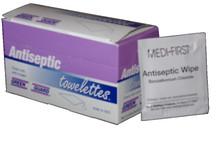 Antiseptic Wipes – 25 Count Dispenser Box