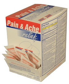 Pain & Ache Tablets in single dose packets (Compare to Excedrin – 250 Count Dispenser Box