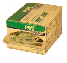 PMS Relief Tablets in single dose packets (Compare to Pamprin) - 100 Count Dispenser Box