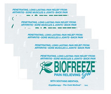 Bio-Freeze Cold Therapy Pain Relief Packets – 5 Packets Per Package