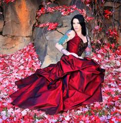 Fairy tale Masquerade Gown Anna
