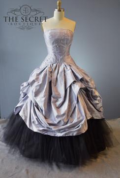Bridal Gown Gothic Scarlet O'Hara
