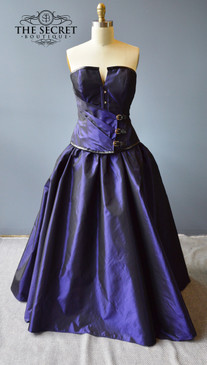 Gothic Buckle Bustle Gown