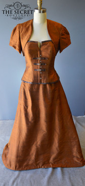 Steampunk Silk Ensemble