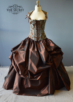 Steampunk Renaissance Wedding Dress