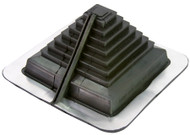 """[MasterFlash®]~[Mutli Flash Square Vent accomodates pipes closed - 10"""" (0-254mm)]~[Offers strict weather protection from its EPDM rubber. 