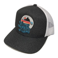 Turquoise Mike Ryan Mountain Snapback Cap
