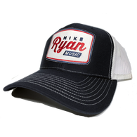Mike Ryan Vintage Snapback Cap - Navy/White