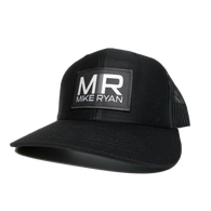 MR Logo Ball Cap- Charcoal/Black